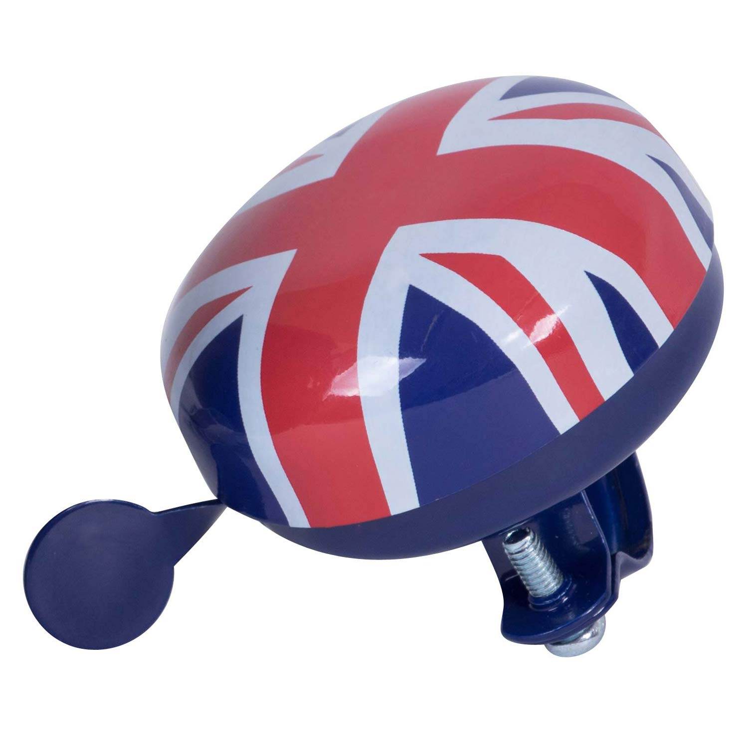 Kiddimoto BELLUJ-S Small Children's Bike Bicycle Scooter Metal Ding Dong Bell – Union Jack