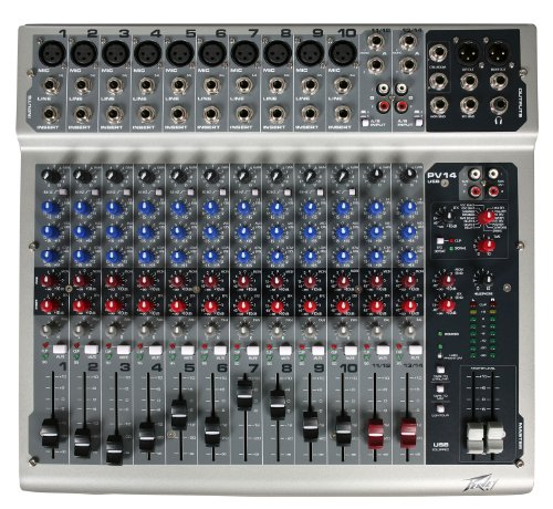 Peavey PV14 USB 14 Channel Mixing Console by Peavey