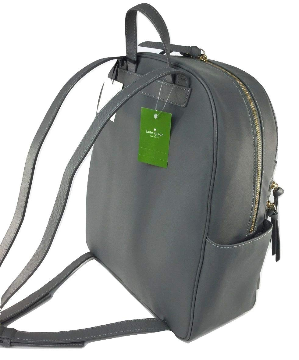 a1e616459b5f9 Amazon.com  Kate Spade NY Wilson Road Bradley Smoky Pearl Large Nylon  Backpack  Sports   Outdoors