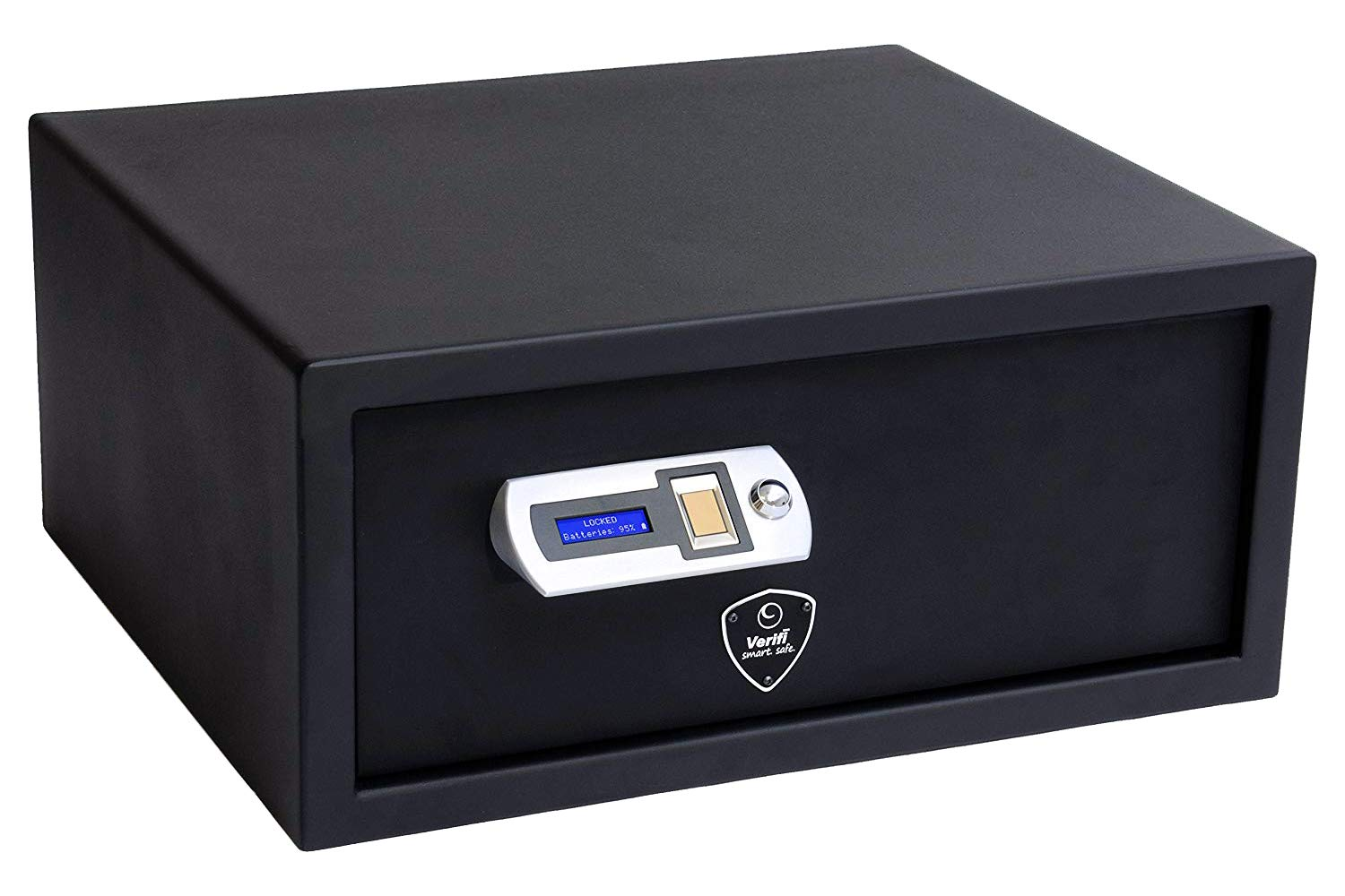 Verifi Smart.Safe. S6000 Biometric Gun Safe with FBI Certified Fingerprint Sensor, Self-Diagnostics, Tamper Alerts and AutoLock by Verifi Smart.Safe.