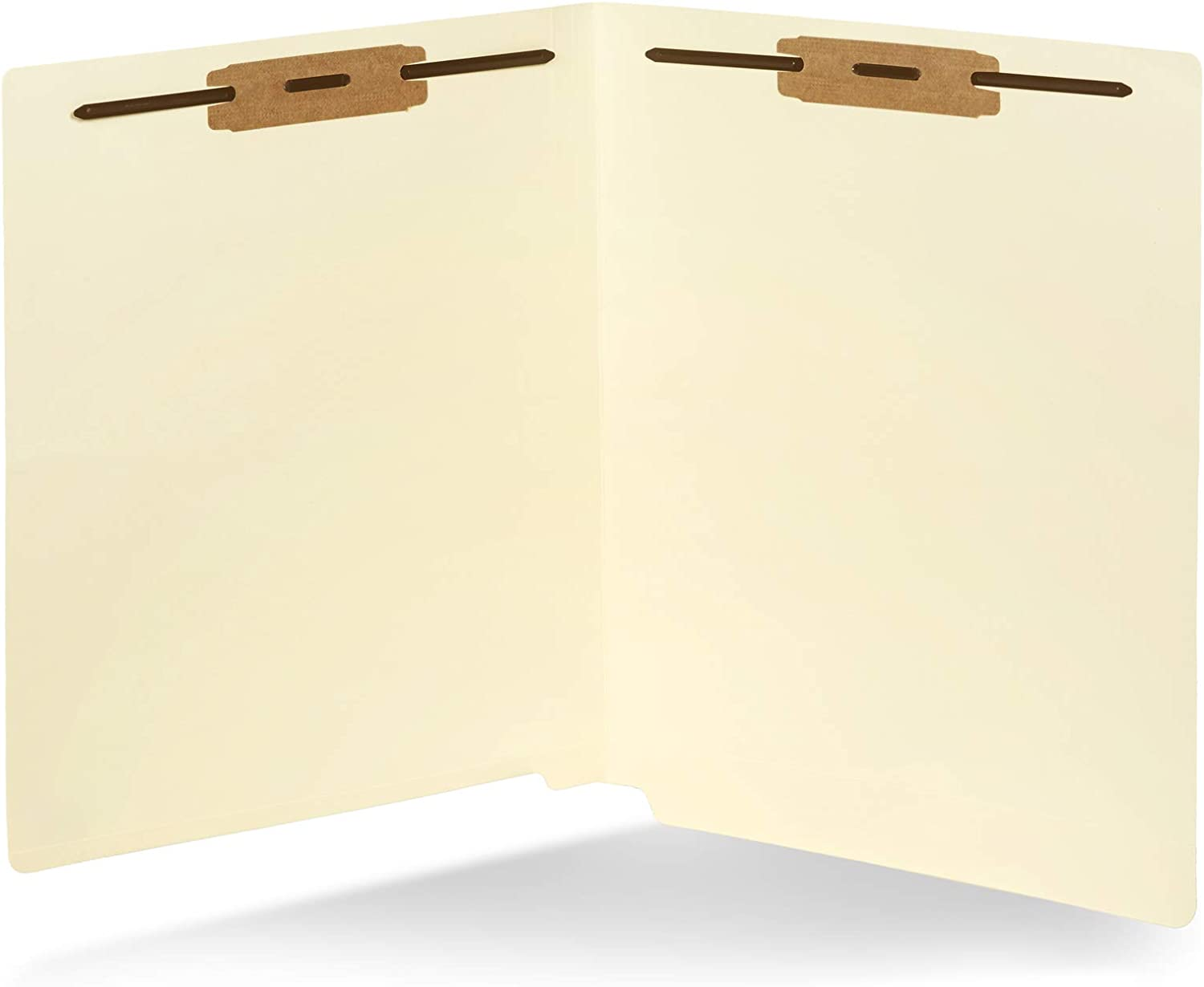 Designed to or... 50 End Tab Fastener File Folders Reinforced Straight Cut tab