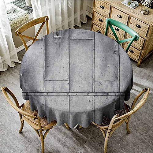 Outdoor Round Tablecloth with Umbrella Hole 35