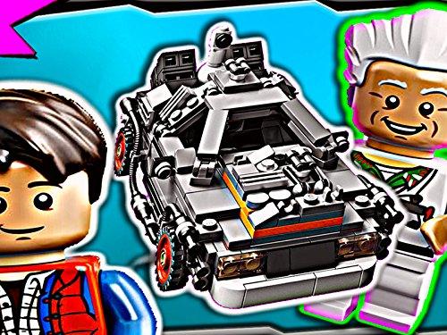 Clip: Back to the Future Delorean Time Machine (Lego Creator Ship Sets)