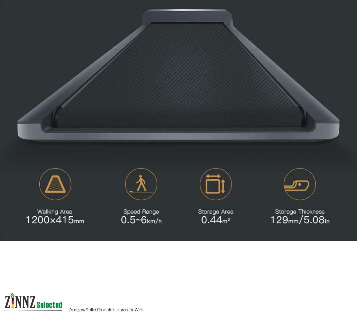 ZINNZ SELECTED WalkingPad A1 EU: Amazon.es: Electrónica