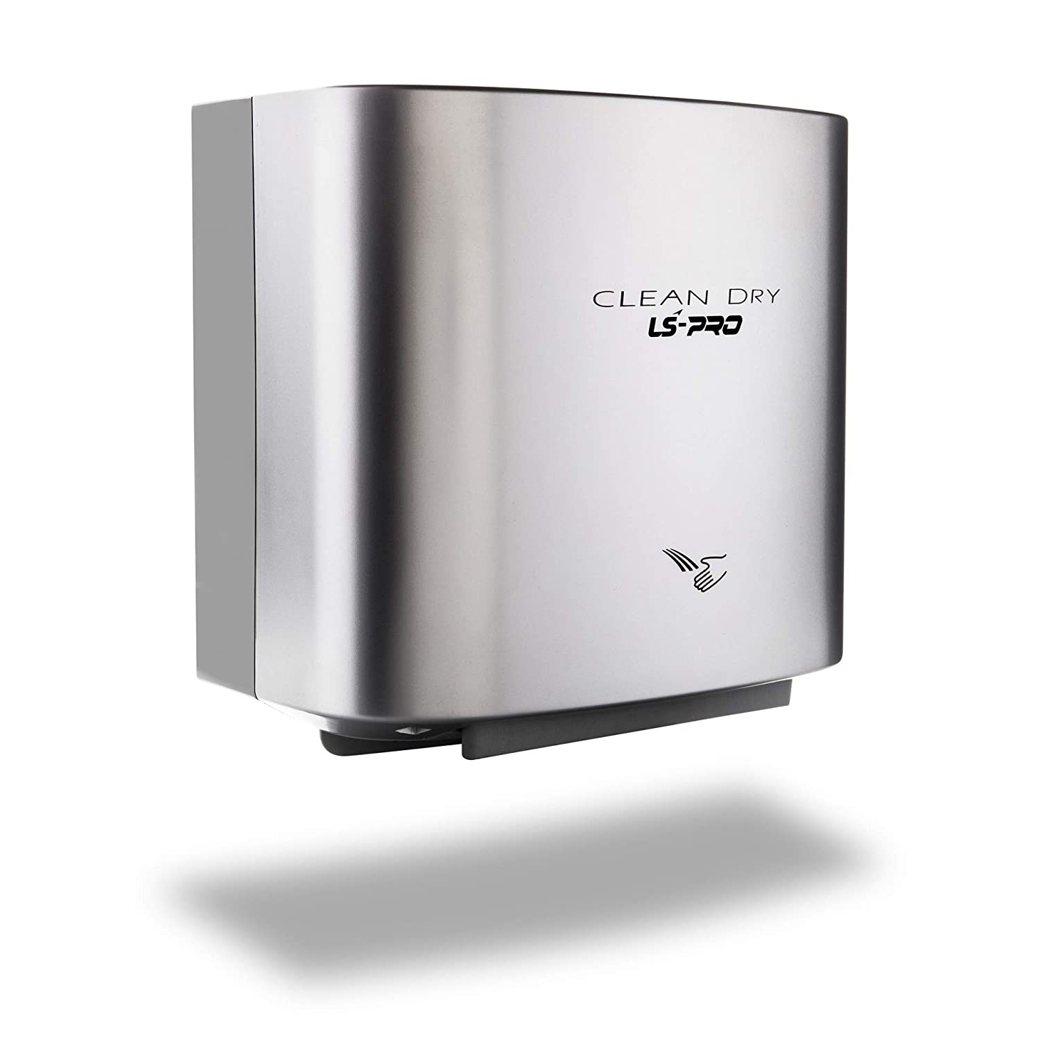 LS-PRO Automatic Hand Dryer for Commercial Bathrooms. High Speed Hot Air, Dry Hands in 7s. No Touch Operation with Infrared Sensor. Easy & Fast Installation. Low Noise 60 dB.