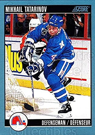 (CI) Mikhail Tatarinov Hockey Card 1992-93 Score Canadian (base) 107 17801b23b