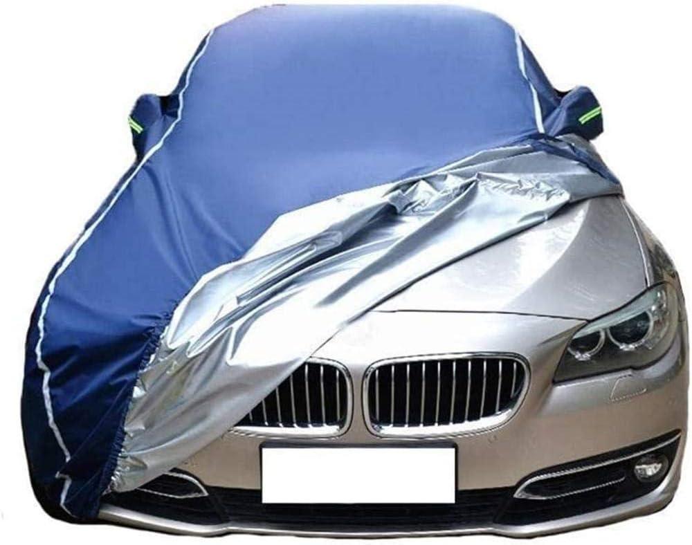 Gasou Funda Impermeable para Coche Compatible con Audi-Verde/_A3