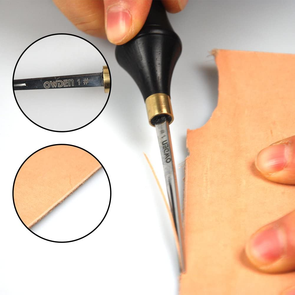 ,Leather Tool OWDEN Professional Edge beveles for Leather Craft 3#