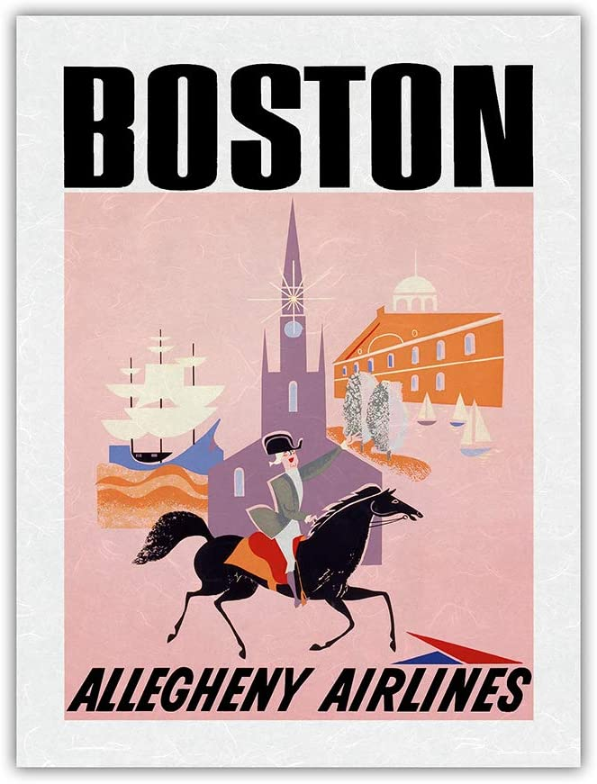 Max 56% OFF Boston - Complete Free Shipping Allegheny Airlines Mayflower Hall and Ship Faneuil