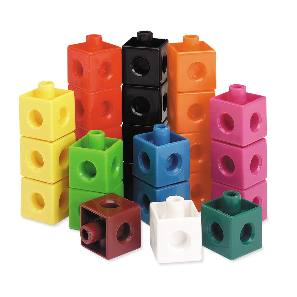 Learning Resources Snap Cubes, Set of 1000