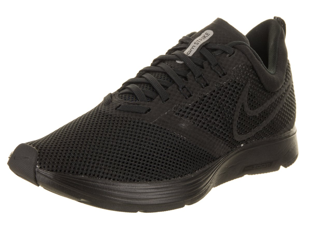NIKE Women's Zoom Strike Running Shoe B0719CVZT9 14 D(M) US|Black/Black