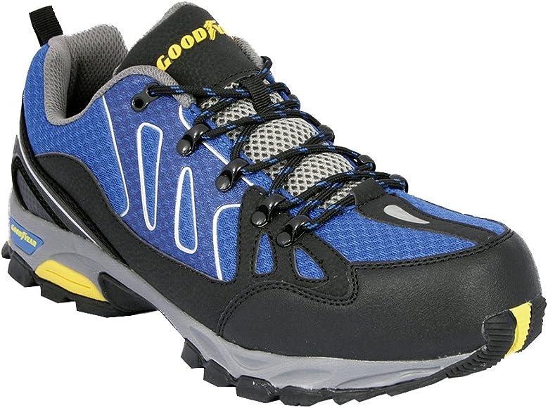 4907e7b7a Men's Gyshu1504 Safety Trainers. Goodyear Workwear GYSHU1504 Mens SRA Safety  Shoes, Blue (Black/Royal), 7