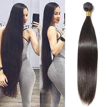 Amazon Com Newness 10a Straight Hair Long Length Virgin Human Hair 6 Bundles Deal 26 26 28 28 30 30 Inch Unprocessed Brazilian Straight Long Weave Bundles Total 600g Beauty