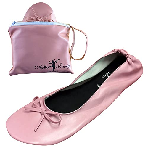 37 Eu Da Scarpe Pink Donna nude Ballerine Borsetta Y8qxz0