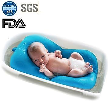 Amazon.com : Moonvvin Baby Bather Infant Bath Pad, Floating Soft ...