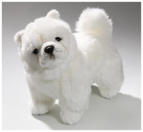 Carl Dick Chow-Chow dog 10.5 inches, 27cm, Plush Toy, Soft Toy