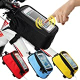 JOY COLORFUL Bicycle Bags Front Tube Frame Cycling - Best Reviews Guide