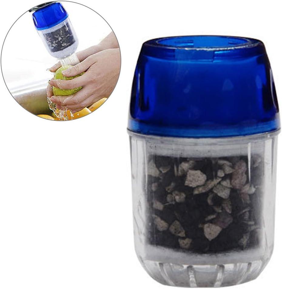 Filtro de agua para grifo, filtro purificador de agua de carbón de ...