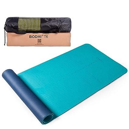 Amazon.com : BMINYA Double Yoga Mat TPE Non-Slip Resistant ...