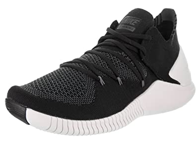 NIKE Women's Free Tr Flyknit 3 Black/White Dark Grey Training Shoe 8 Women  US