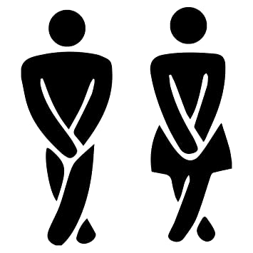 Bathroom Signs Male   Female Decal Stickers and different colours for  bathroom door signs  black. Amazon com  Bathroom Signs Male   Female Decal Stickers and