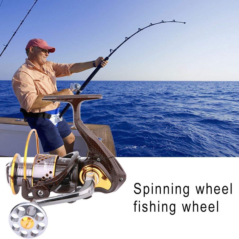 KinshopS Snake Pattern 12+1 Gapless Spinning Wheel Reel Fishing ...