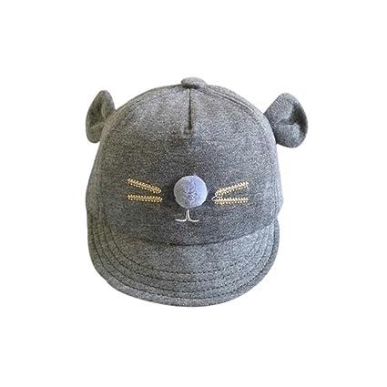 Wongfon - Gorra de béisbol de algodón suave con visera suave ...