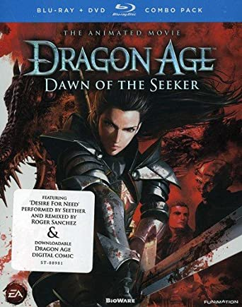 Amazon Com Dragon Age Dawn Of The Seeker Blu Ray Dvd Combo Colleen Clinkenbeard J Michael Tatum Chuck Huber R Bruce Elliott Christopher R Sabat John Swasey Monica Rial Brina Palencia Pam Dougherty Joel