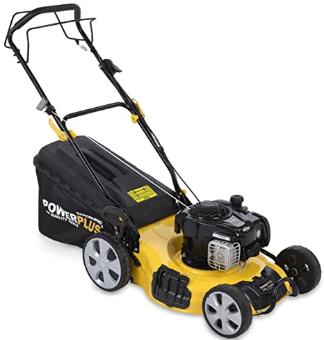 POWERPLUS POWXG60310 - Cortacésped 125cc 460mm b&s: Amazon ...