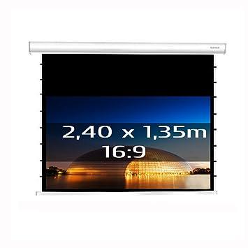 Kimex 3700685404250 - Pantalla eléctrica tensionada 240x135cm ...