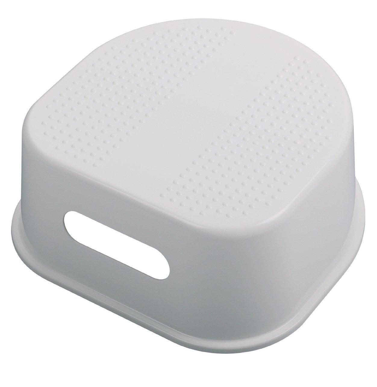 White Rotho Babydesign Tabouret 200240001 Surface et Pieds Antid/érapants Bella Bambina Blanc