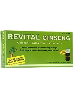 REVITAL GINSENG +VIT C + JALEA REAL , 20 AMPOLL
