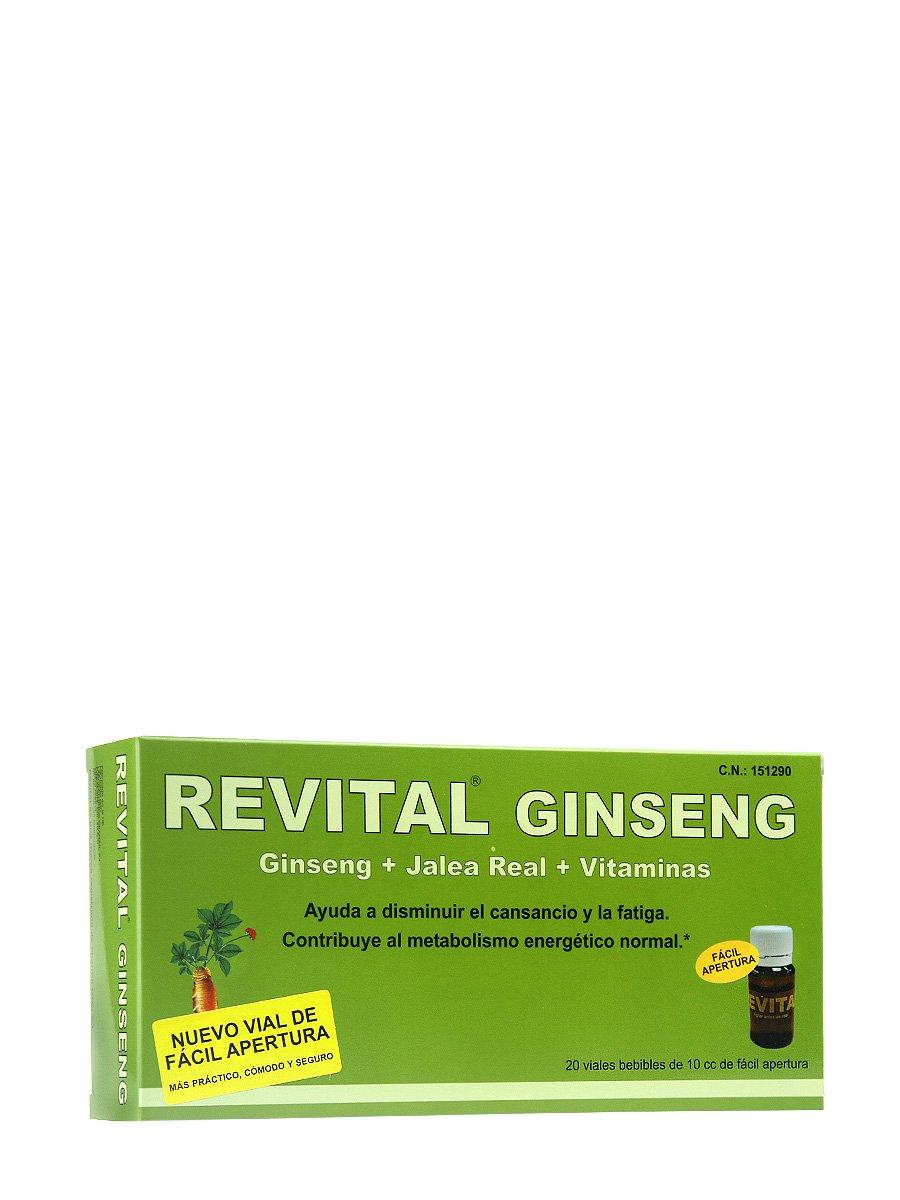 REVITAL GINSENG +VIT C + JALEA REAL , 20 AMPOLL: Amazon.es: Salud y cuidado personal