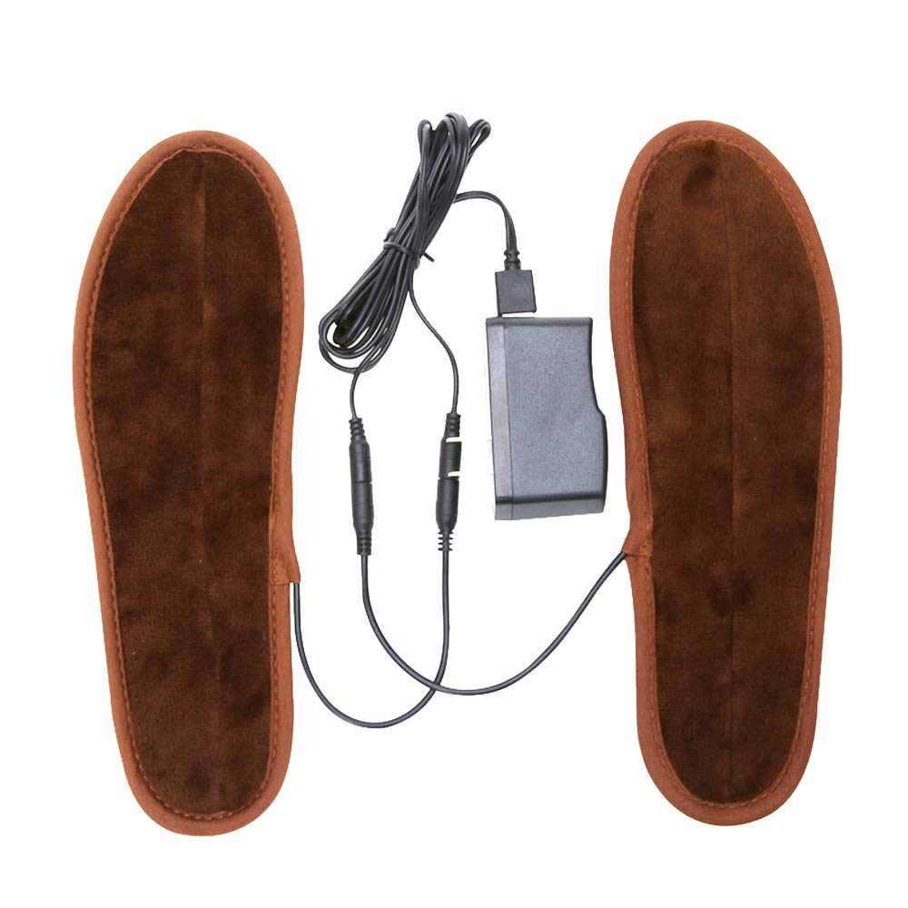 Ski warming Insole USB Electric Heated Boots Shoes Pads Insoles Foot Warmer