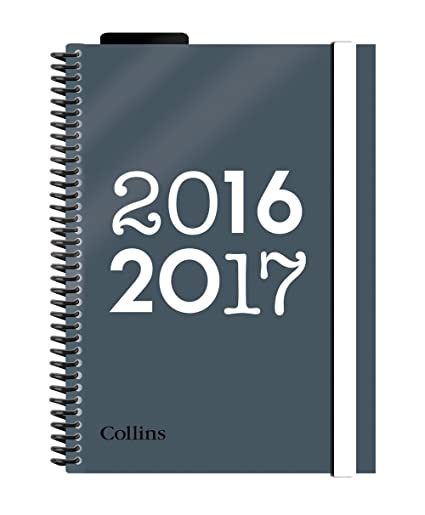 Collins - Agenda escolar 2016-2017, A5, con vista por días y ...