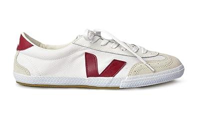 fe7f1b0940977 Amazon.com   Veja Mens Volley White Marsala Sneakers 42   Fashion ...