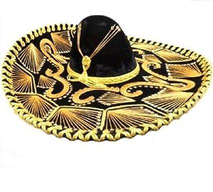 Amazon.com  Mexican Mariachi Sombrero  Clothing 7e98382adc2