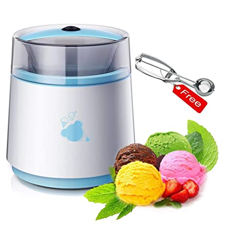 MEISHENG Máquina automática para Hacer Helados - Mezclador de Yogur y Postre Hecho en casa -