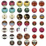 kureig k cup coffee - Coffee - Medium and Dark Roast Only - Premium Variety Sampler Pack for Keurig K-Cup Brewers - 40 Count - 2 of Each (selection may vary)