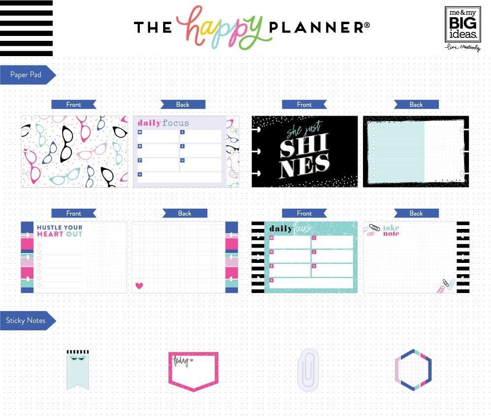 Me /& My Big Ideas The Happy Planner Sticker MultiPk Classic Boss Babe
