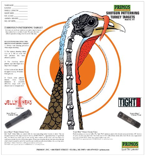 Primos Shotgun Patterning Turkey - Turkey Shooting Targets