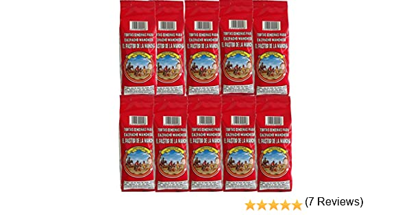 Tortas cenceñas para gazpacho manchego 200 g. [PACK DE 10 UNIDADES]: Amazon.es: Alimentación y bebidas