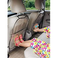 Excefore Car Seat Back Protector Cover For Children, Kick Mats, Waterproof and Stain Resistant Seat Protectors…