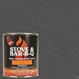 Stove Bright TI-8142 High Temperature Brush On Paint, 1200...
