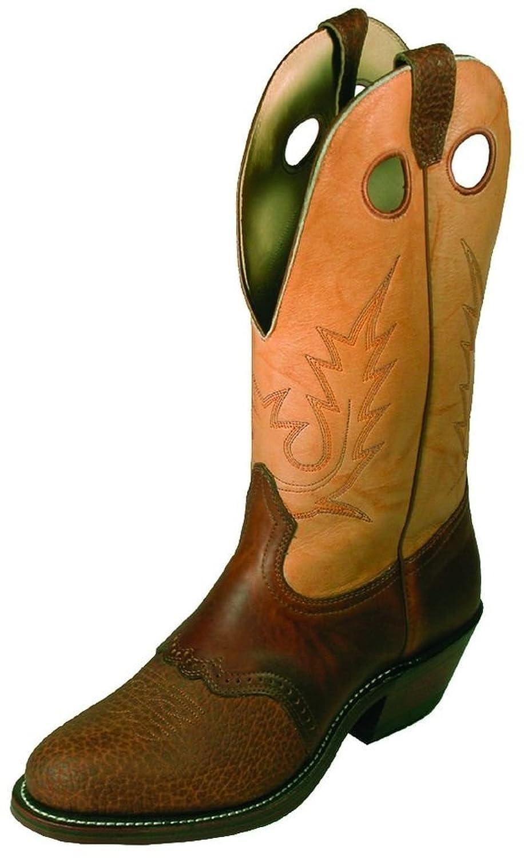 Boulet Men's Buckaroo Cowboy Boot Round Toe - 2175
