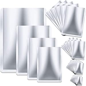 30 Pieces 4 Sizes Mylar Aluminum Foil Bags, 7 Mil Mylar Bags for Food Storage Coffee Tea Beans (5 x 7 Inch, 6 x 9 Inch, 8 x 11 Inch, 10 x 14 Inch)