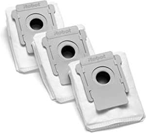 iRobot Authentic Replacement Parts- Clean Base Automatic Dirt Disposal Bags, 3-Pack, Compatible with All Clean Base Models (3 Pack)