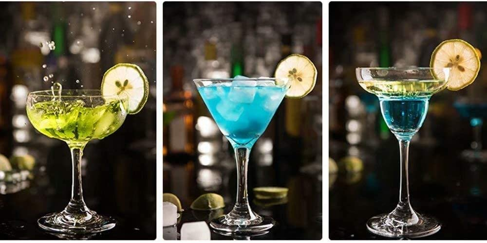 Cóctel de 11 piezas de este conjunto Cocktail Set profesional ...