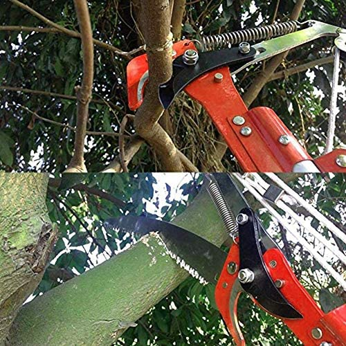 DYB Multifunctional Pruning Saw Telescopic Garden Shears 2 in 1 High Trees Branches Trimming With Extension Pole 3M / 5M Manual Saw Pruner-Pruning Saws