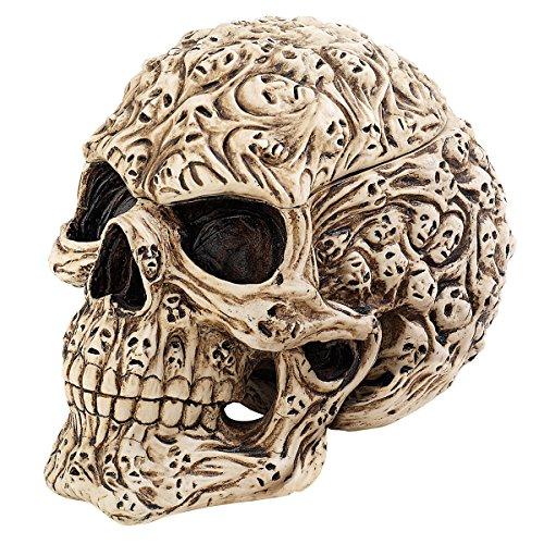 Design Toscano Skull's Soul Spirit Sculptural Box